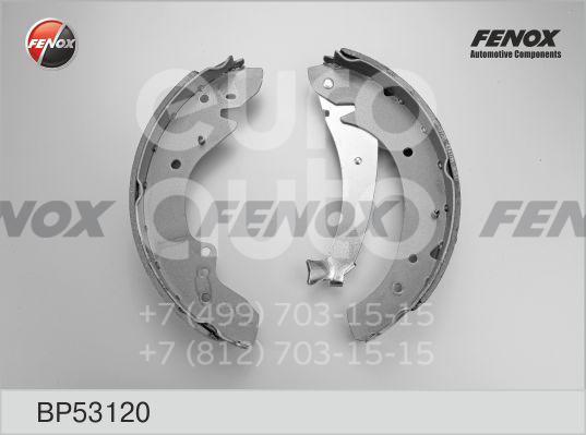 Купить Колодки барабанные к-кт Alfa Romeo Spider 1971-1993; (BP53120)