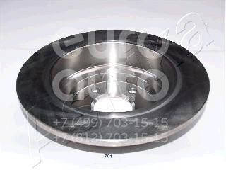 Купить Диск тормозной задний Subaru Impreza (G10) 1993-1996; (61-07-701)