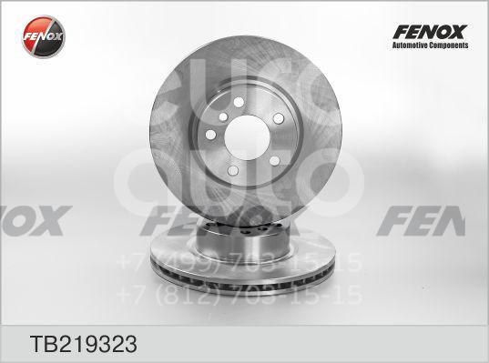 Купить Диск тормозной передний вентилируемый BMW X3 F25 2010-; (TB219323)