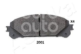 Купить Колодки тормозные передние к-кт Lexus RX 350/450H 2009-2015; (50-02-2001)