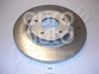 Диск тормозной передний вентилируемый для Citroen C-Crosser 2008-2013 - Фото №1