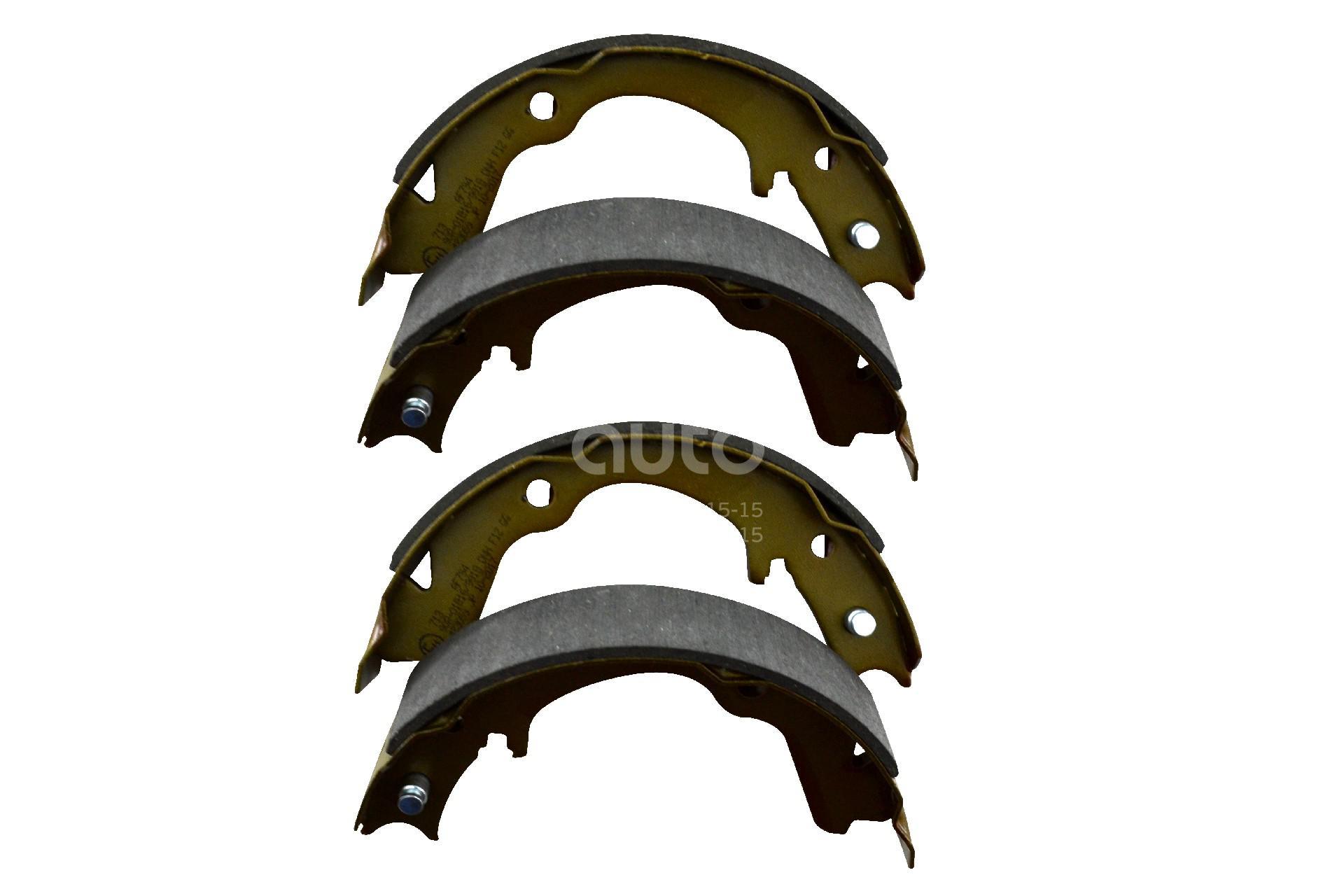 Купить Колодки ручного тормоза к-кт Subaru Impreza (G10) 1993-1996; (55-07-713)