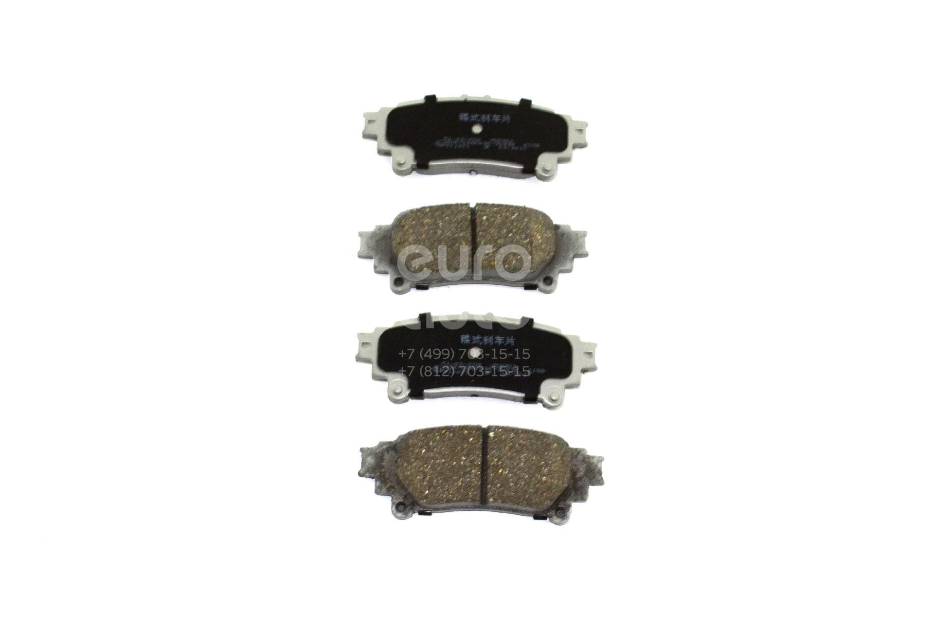Купить Колодки тормозные задние дисковые к-кт Lexus RX 300/330/350/400h 2003-2009; (51-02-228)