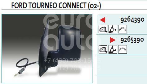 Зеркало правое механическое для Ford Transit/Tourneo Connect 2002-2013 - Фото №1