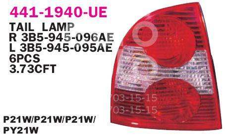 Купить Фонарь задний левый VW Passat [B5] 2000-2005; (441-1940L-UE)