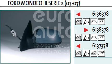 Купить Зеркало левое механическое Ford Mondeo III 2000-2007; (6136378)