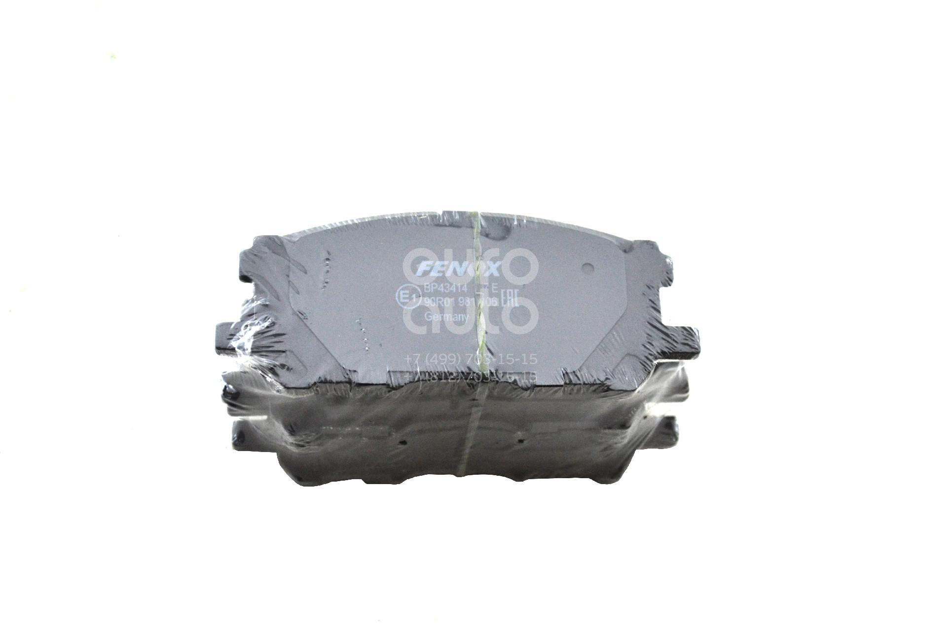 Купить Колодки тормозные передние к-кт Lexus RX 300/330/350/400h 2003-2009; (BP43414)