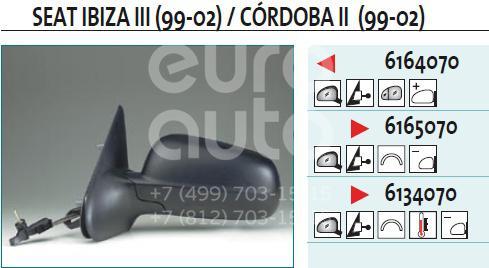 Купить Зеркало левое механическое Seat Ibiza III 1999-2002; (6164070)