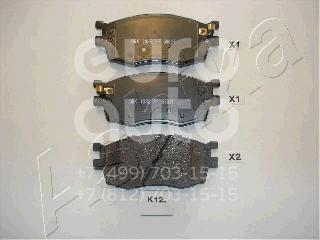 Купить Колодки тормозные передние к-кт Kia RIO 2005-2011; (50-0K-K12)