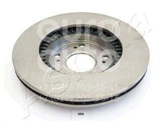 Купить Диск тормозной передний вентилируемый Honda Civic 4D 2006-2012; (60-04-494)