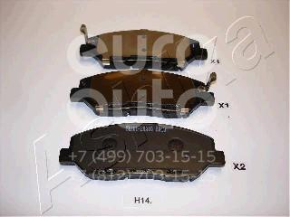 Колодки тормозные передние к-кт для Hyundai Santa Fe 2012> - Фото №1
