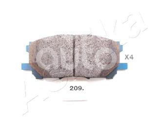 Купить Колодки тормозные передние к-кт Lexus RX 300/330/350/400h 2003-2009; (50-02-209)