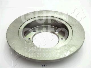Диск тормозной задний для Mitsubishi Carisma (DA) 2000-2003 - Фото №1
