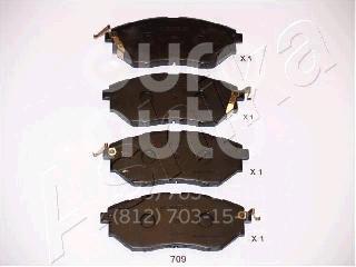 Купить Колодки тормозные передние к-кт Subaru Legacy (B13) 2003-2009; (50-07-709)