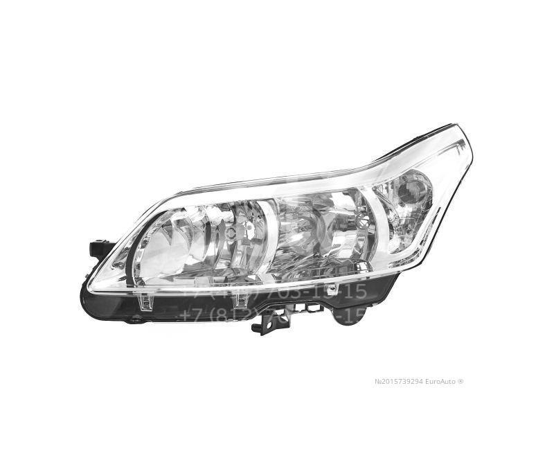 Купить Фара левая Citroen C4 2005-2011; (552-1121L-LD-EM)