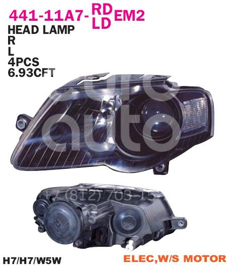 Фара правая для VW Passat [B6] 2005-2010 - Фото №1