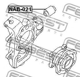Купить С/блок Nissan Pathfinder (R51) 2005-2014; (NAB-021)