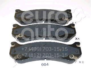 Купить Колодки тормозные передние к-кт Hummer H2 2003-2009; (51-00-004)
