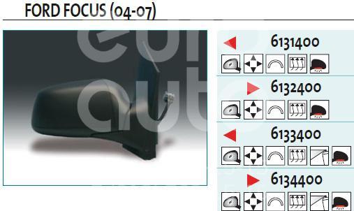 Купить Зеркало левое электрическое Ford Focus II 2005-2008; (6133400)