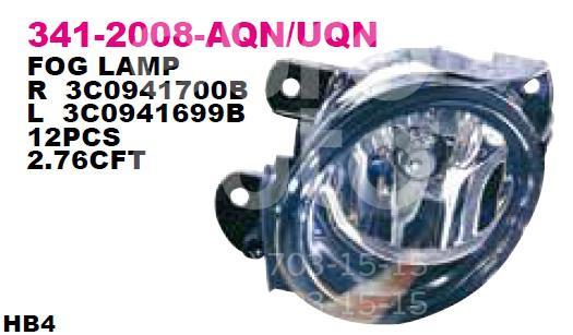 Фара противотуманная левая для VW Passat [B6] 2005-2010 - Фото №1