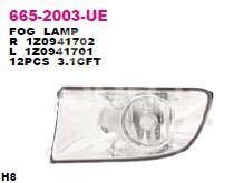 Фара противотуманная правая для Skoda Octavia (A5 1Z-) 2004-2013 - Фото №1