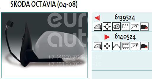 Купить Зеркало левое электрическое Skoda Octavia (A5 1Z-) 2004-2013; (6139524)