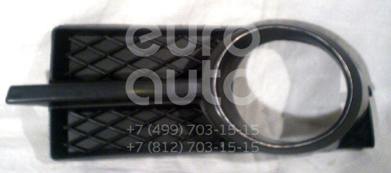 Решетка на противотуманную фару для Chevrolet Aveo (T250) 2005-2011 - Фото №1