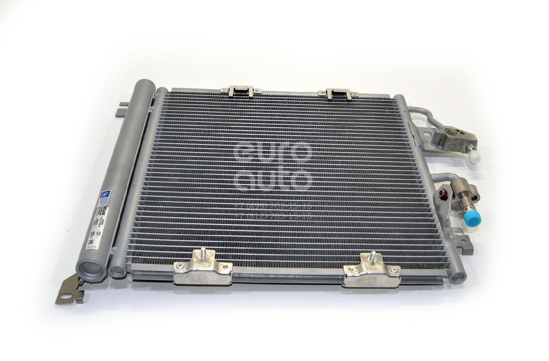 Радиатор кондиционера (конденсер) для Opel Zafira B 2005-2012 - Фото №1