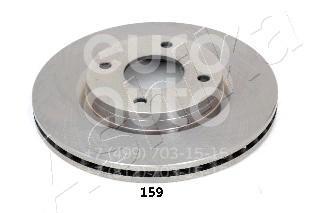 Купить Диск тормозной передний вентилируемый Nissan Tiida (C11) 2007-2014; (60-01-159)