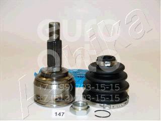 ШРУС наружный передний для Nissan Micra (K12E) 2002-2010 - Фото №1