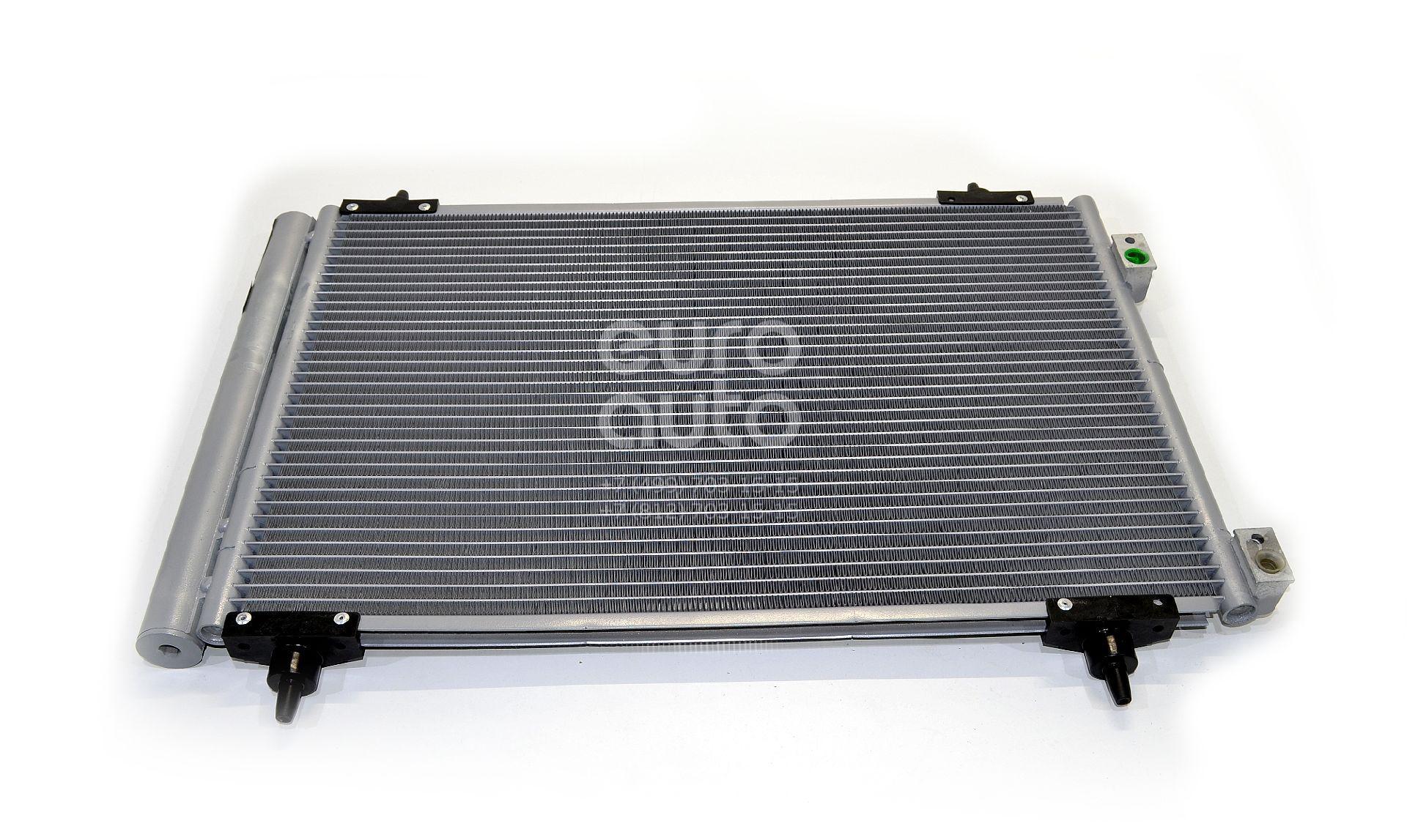 Радиатор кондиционера (конденсер) для Peugeot 408 2012> - Фото №1