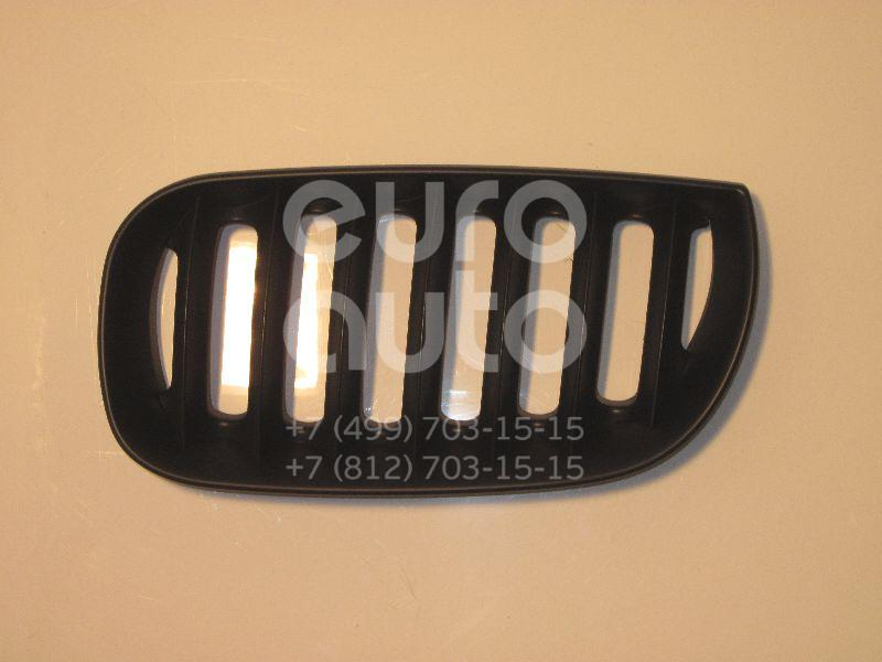 Решетка радиатора левая для BMW X3 E83 2004-2010 - Фото №1