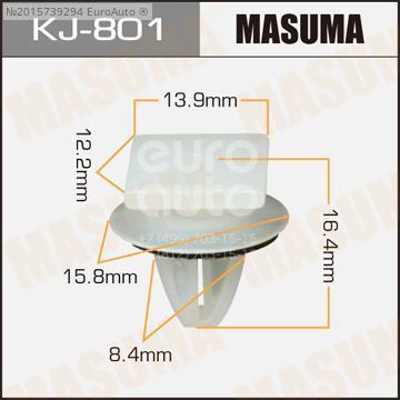 Крепеж (клоп) для Mitsubishi L200 (K6,K7) 1996-2006 - Фото №1