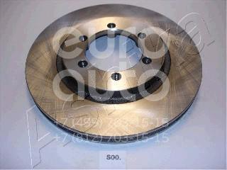 Диск тормозной передний вентилируемый Ssang Yong Musso 1993-2006; (60-0S-000)
