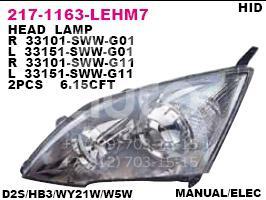 Купить Фара правая Honda CR-V 2007-2012; (217-1163R-LEHM7)