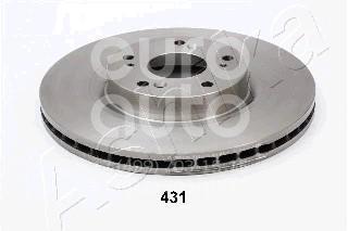 Диск тормозной передний вентилируемый для Honda CR-V 2002-2006 - Фото №1
