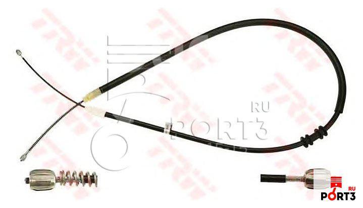 Купить Трос стояночного тормоза левый Renault Kangoo 2003-2008; (GCH1733)