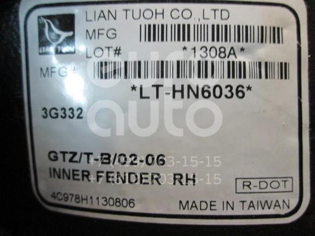 Купить Локер передний правый Hyundai Getz 2002-2010; (HN350016L-0R00)