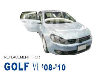 Фара левая для VW Golf VI 2009-2013 - Фото №1