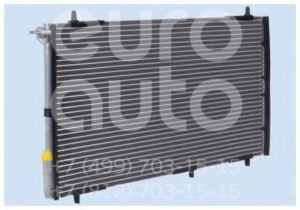 Радиатор кондиционера (конденсер) Peugeot 206 1998-2012; (PE5257)