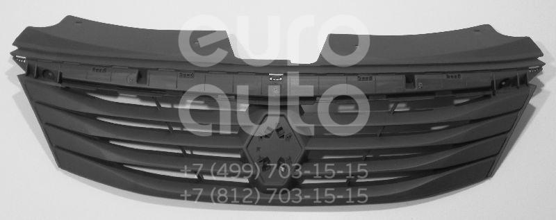 Решетка радиатора для Renault Logan 2005-2014 - Фото №1