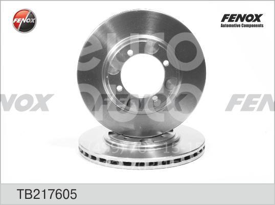 Диск тормозной передний вентилируемый для Hyundai Tiburon 1996-2002 - Фото №1