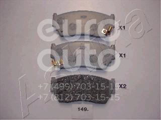 Колодки тормозные передние к-кт для Nissan Sunny Y10 1990-2000 - Фото №1