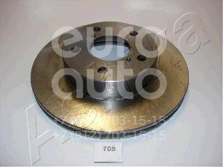 Купить Диск тормозной передний вентилируемый Subaru Impreza (G10) 1993-1996; (60-07-705)