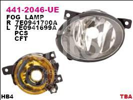 Купить Фара противотуманная правая VW Transporter T5 2003-2015; (441-2046R-UE)