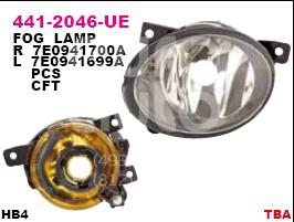 Купить Фара противотуманная левая VW Transporter T5 2003-2015; (441-2046L-UE)