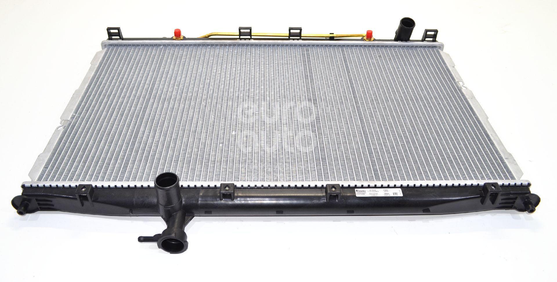 Радиатор основной для Hyundai Santa Fe (CM) 2006-2012 - Фото №1