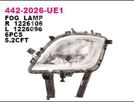 Фара противотуманная правая Opel Astra J 2010-; (442-2026R-UE1)