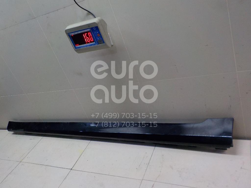Купить Накладка на порог (наружная) BMW 7-серия G11/G12 2014-; (51777459968)