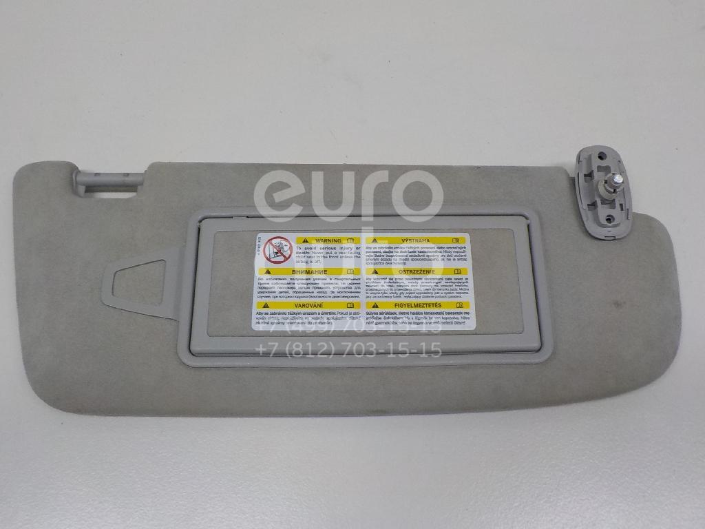 Купить Козырек солнцезащитный (внутри) Mercedes Benz W221 2005-2013; (22181014107G17)